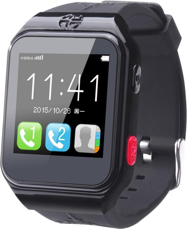 FindU FY02S Smartwatch(Black Strap)
