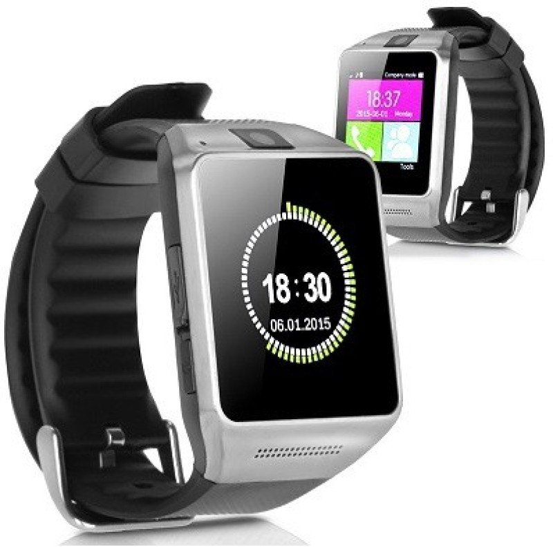 Attire Stylish Smartwatch(Black Strap)