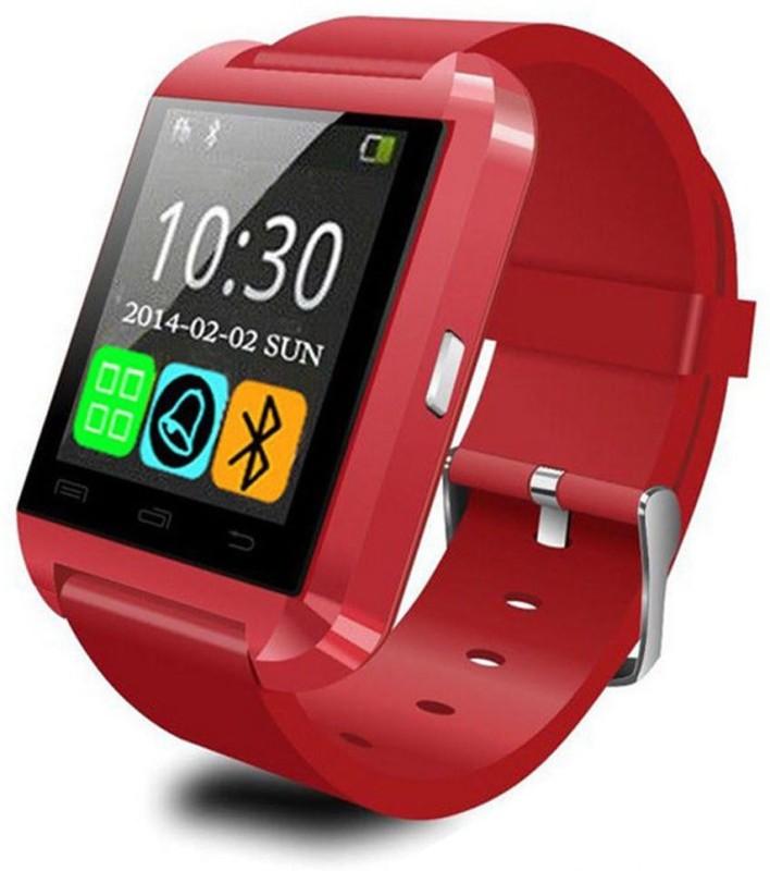 Hari Krishna Enterprise HK1008 Smartwatch(Red Strap)