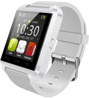 ShopAIS U8White Smartwatch(White Strap)