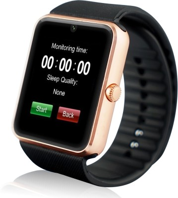 LIFE LIKE GT08 WITH SIM & SD CARD SUPPORT BLACK Smartwatch