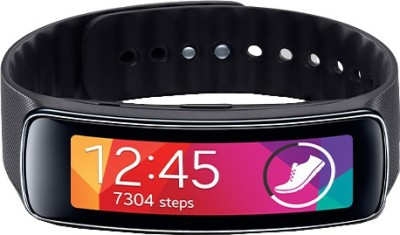 SAMSUNG Gear Fit Charcoal Black Smartwatch