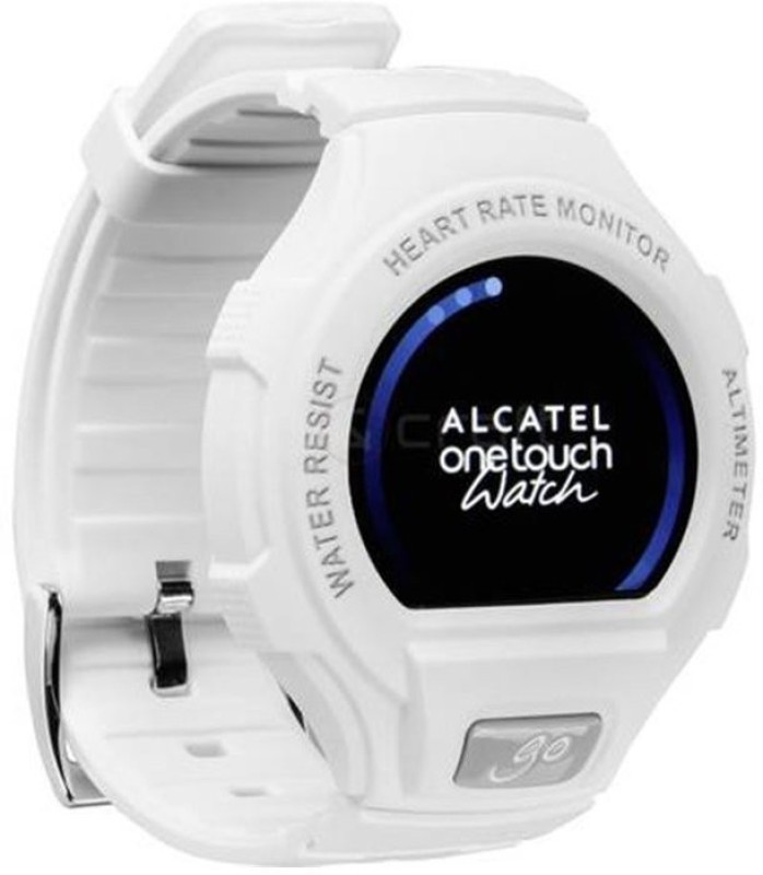 Alcatel Go Watch White & Light Grey Smartwatch(White Strap)