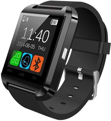 Maya U8 Maya Black Smartwatch(Black Strap Regular) at flipkart