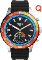 Fossil Q Crewmaster Hybrid (For Men) Smartwatch(Black Strap Regular) for Rs.11995.0 at Flipkart