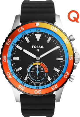 Fossil Q Crewmaster Hybrid (For Men) Smartwatch(Black Strap)