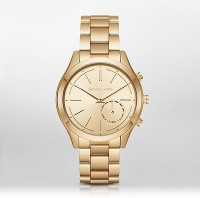 Michael Kors Access Slim Runway Hybrid (For Women) Smartwatch(Gold Strap Regular)