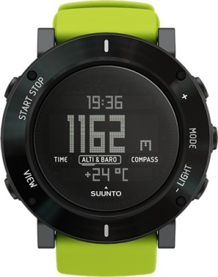 Suunto SS020693000 Core Digital Lime Crush Smartwatch(Green Strap)