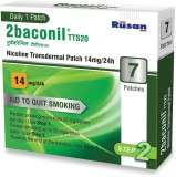 2baconil 14mg 24 hour patch Smoking Patc...