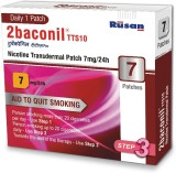 2baconil 7mg 24 hour patch Smoking Patch...