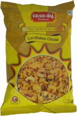 Chitale Bandhu Pune Special Cornflakes Chiwda(800, Pack of 4)