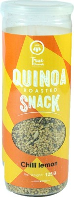 True Elements Quinoa Roasted Snack Chilli Lemon Mixture(125, Pack of 1)