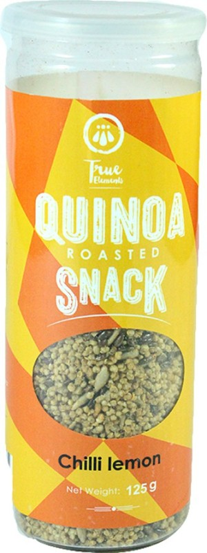True Elements Quinoa Roasted Snack Chilli Lemon Mixture(125, Pack of 1)