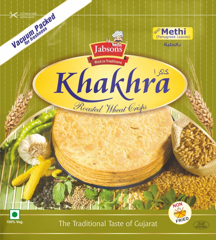 Jabsons KhakhraMethi Farsan(180, Pack of 1)