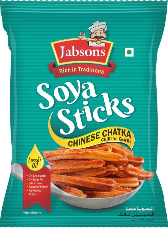 Jabsons SoyaSticksChineseChatka Farsan(180, Pack of 1)