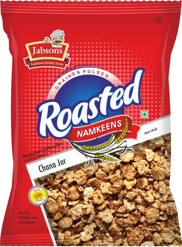 Jabsons RoastedNamkeenChanaJor Farsan(160, Pack of 1)