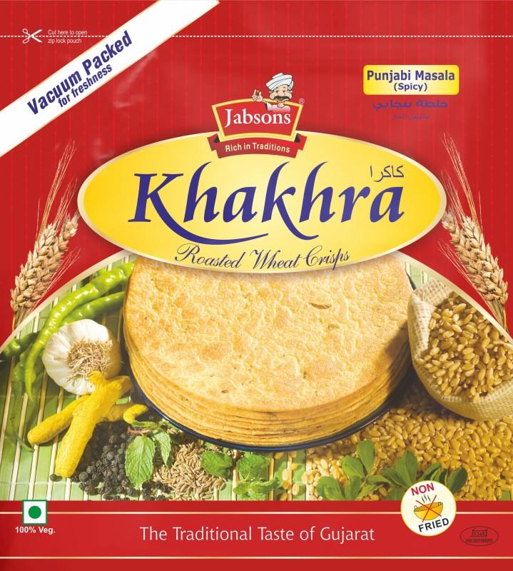 Jabsons KhakhraPunjabiMasala Farsan(180, Pack of 1)