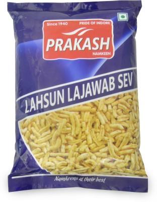 Prakash Lahusun Lajawab Sev Bhujia Sev(1050, Pack of 3)