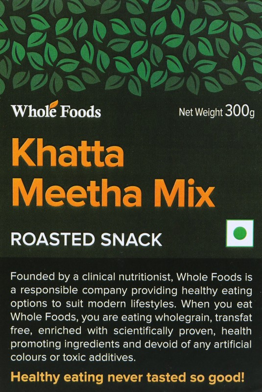 Whole Foods Khatta Meetha Snacks Mixture(300)