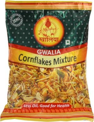 Gwalia Sweets Ahmedabad Cornflakes Mixture(340, Pack of 2)