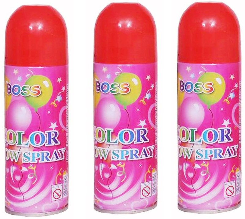 Jamboree Holi Spray-03 Snow Spray(250 ml, Pack of 3)