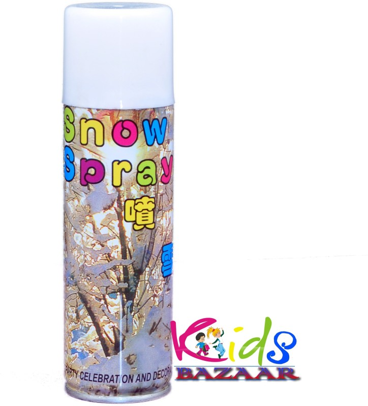 Kids Bazaar party decoration Snow Spray(200 ml, Pack of 1)