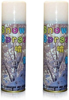Lotus Party & Decoration Snow Spray(200 ml, Pack of 2)