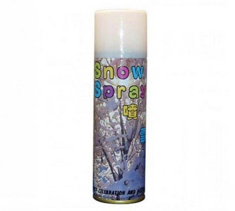 Lotus Party Decoration Snow Spray(200 ml, Pack of 1)