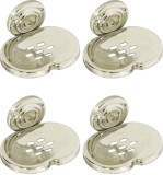 Doyours 4 Pieces Soap Dishes (Steel)