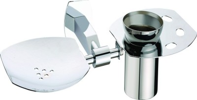 Skayline Soap Dish with Toothbrush Holder