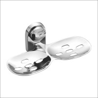 Kamal Double Soap Dish - Eco(Silver)