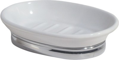 Interdesign York Soap Dish-oval Chrome