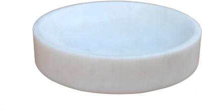 Stonkraft Natural Stone Round Soap Dish