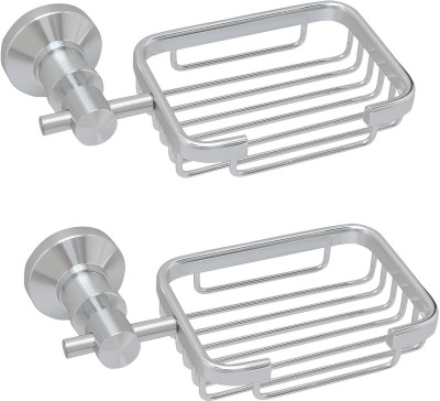 Dolphy Set of 2 Stainless Steel Soap Dish