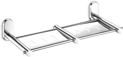 dazzle Double Soap Dish Stainless Steel