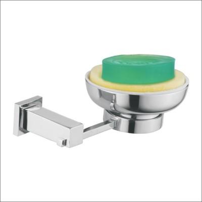 Kamal Brass Square Soap Dish Holder