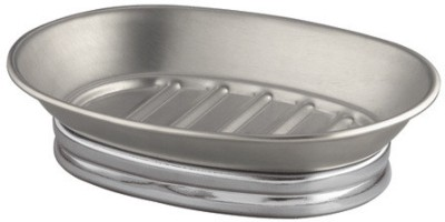 Interdesign York Metal Soap Dish Split Finish