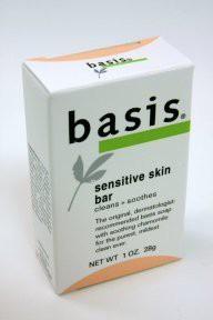 Basis Sensitive Skin Soap(28.34 g, Pack of 9)