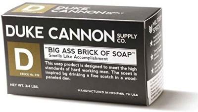 Duke Cannon 019 Adult's Brick of Soap Smells Like Accomplishment