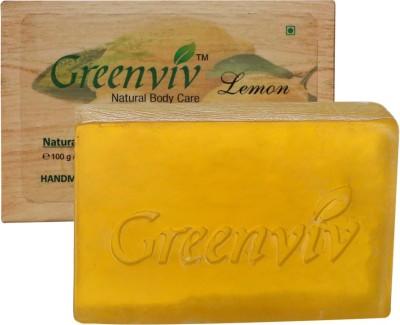 Greenviv Natural Lemon Soap
