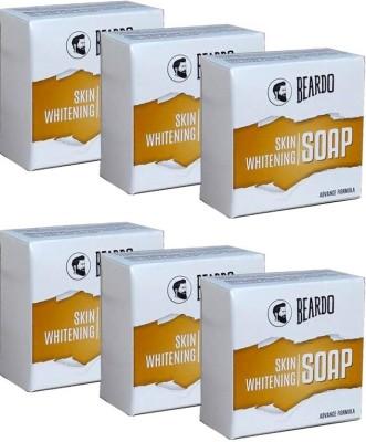 Beardo Skin Whitening Soap – 100g (Set Of 6)