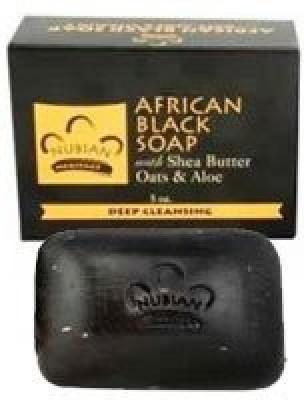 Nubian Heritage : African Black Bar Soap (5 pack)