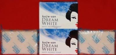 Kojie San Dream White Anti Aging Whitening Kojic Acid Soap 2 Bars in