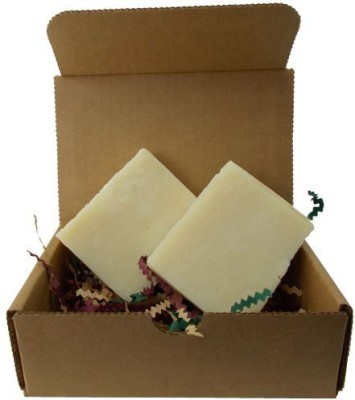 YANKEETRADERS Super Shea All Natural Vegan Handmade Soap / 2 Bars