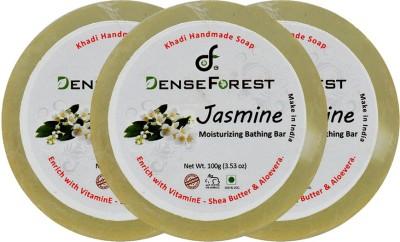 Dense Forest Jasmine Khadi Handmade Soap