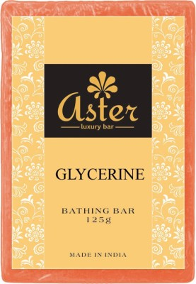 Aster Luxury Glycerin Bathing Bar - Pack of 12