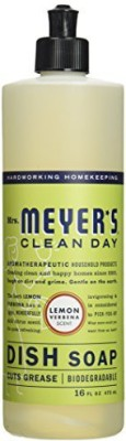 Mrs. Meyers Mrs. Meyer,s: Clean Day Liquid Dish Soap Lemon Verbena (2 pack)