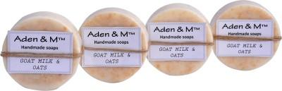 Aden & M Goat Milk & Oats - Pack of 4(80 g)