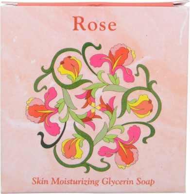 Terrai Natural Products Rose Glycerin Soap