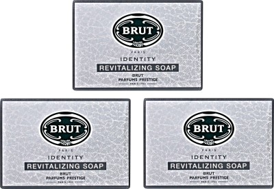 Brut Identity Revitalizing Soap - Set of 3